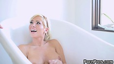 Tasha Reign is a wonderful blonde with big tits and wild sexual desires to satisfy